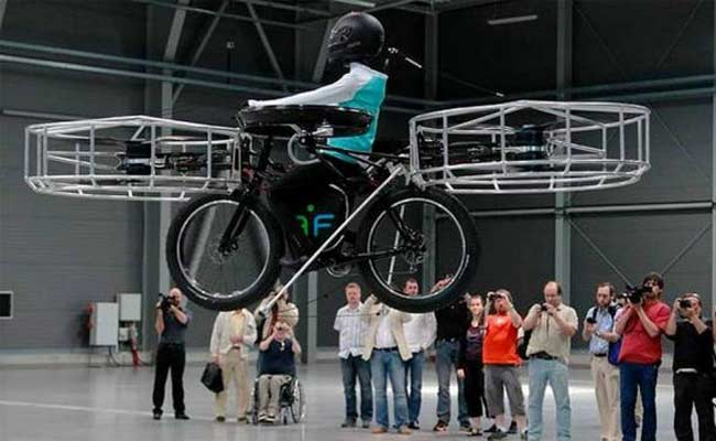 Flying-electric-bike