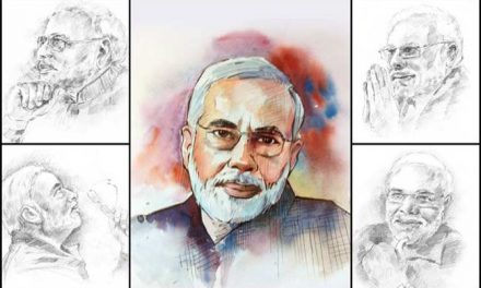 The two faces of Mr. Modi