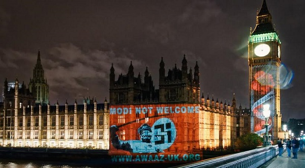 Modi Not Welcome