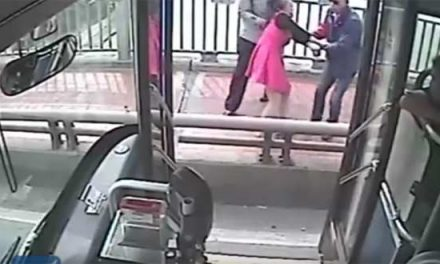 Bus driver saves suicidal woman in China